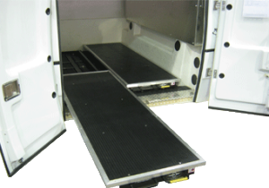 Plancher coulissant Cargo Bed