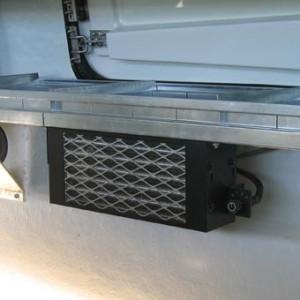 Chauffage 12 volts sur système de refroidisement